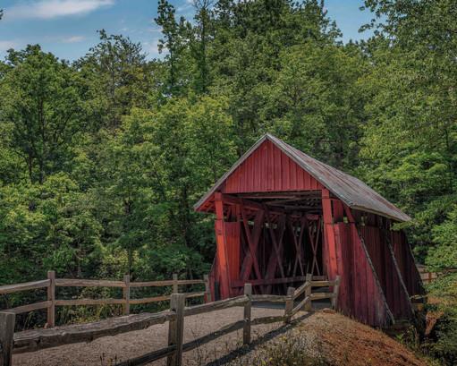Campbells Covered Bridge, SC