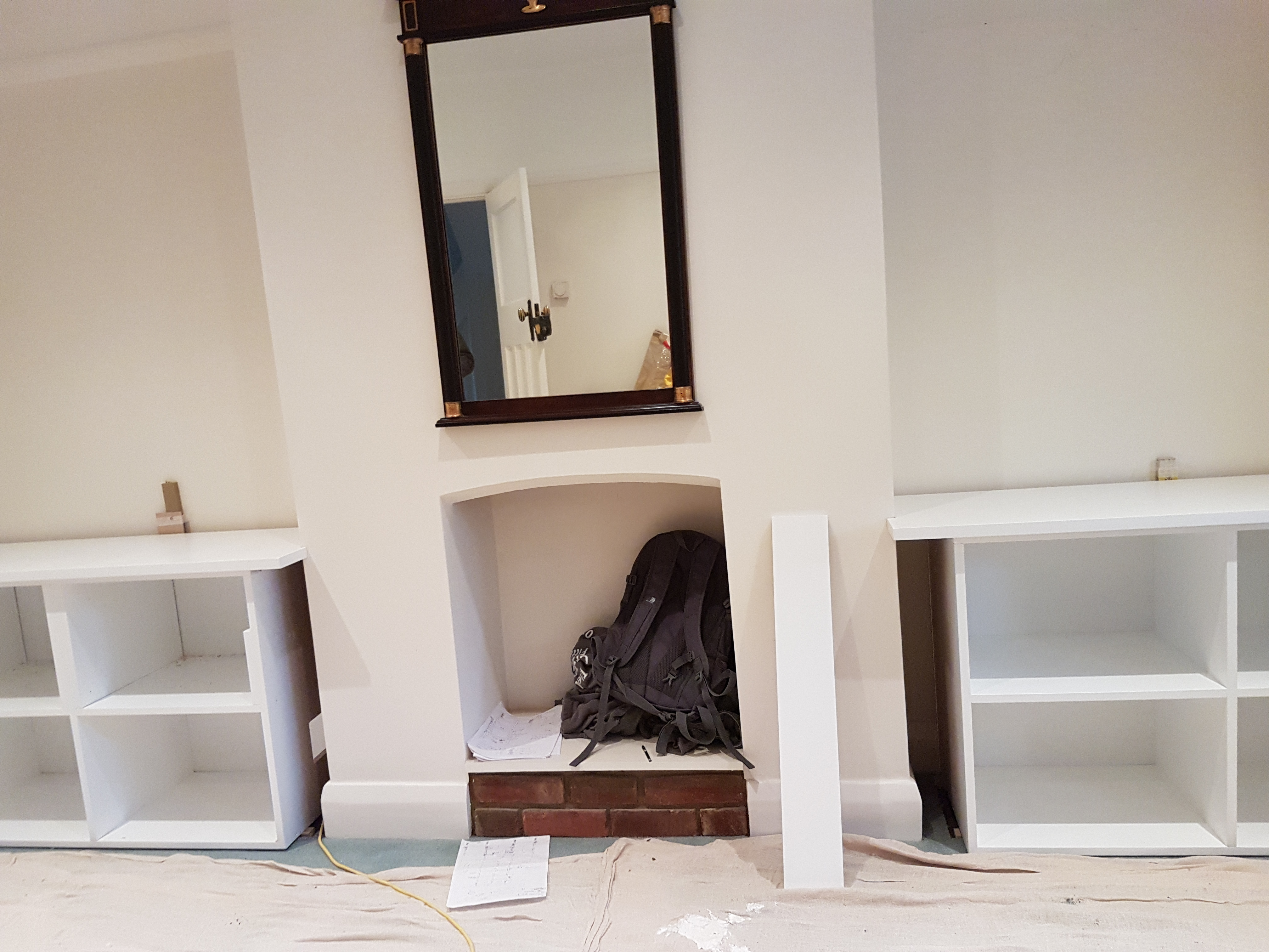 SPRAY FINISHED ALCOVE CABINETS 3