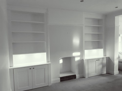 SPRAY FINISHED ALCOVE CABINETS 7