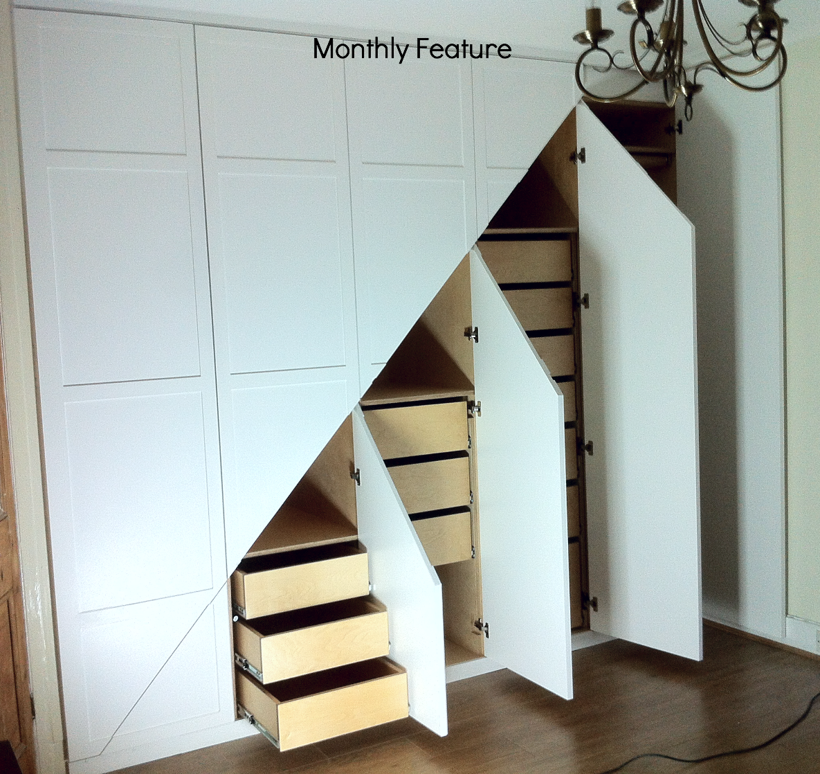 BIRCH PLY UNDERSTAIRS STORAGE UNIT