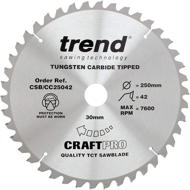 -250MM TABLE SAW BLADE-