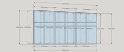 rear wall dimensions