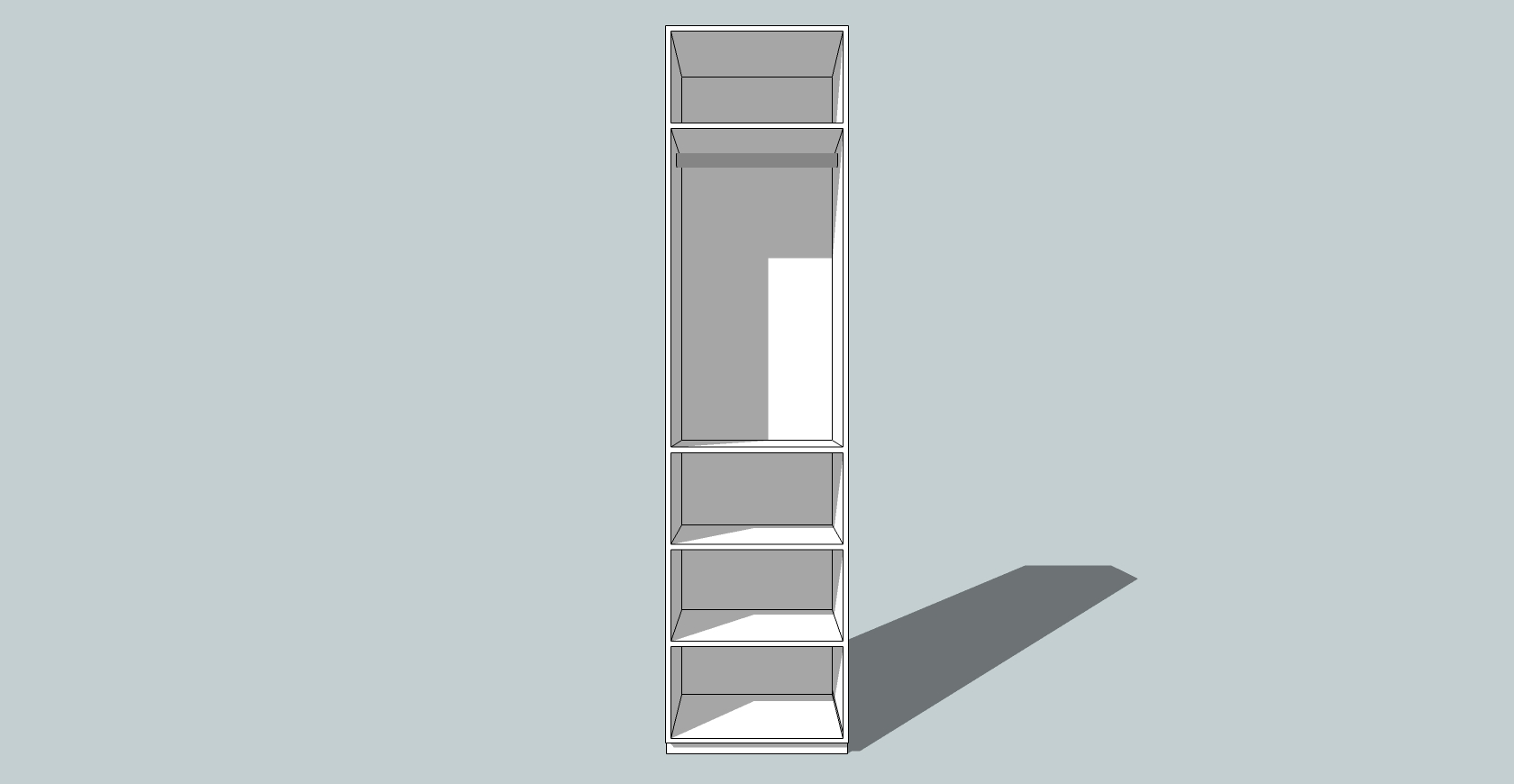 COMPLETE FITTED WARDROBE