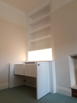 SPRAY FINISHED ALCOVE CABINETS