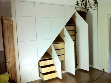 Making a beautiful Under Stairs storage cupboard from start to finish...
