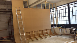 CURVED PHOTO SHOOT WALL