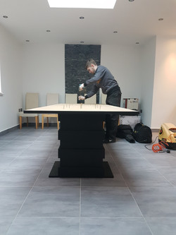 HANDBUILT ART DECO TABLE SET 8