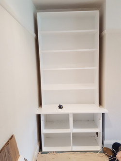 SPRAY FINISHED ALCOVE CABINETS 5