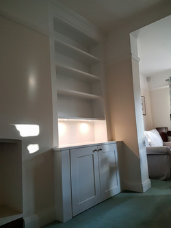 SPRAY FINISHED ALCOVE CABINETS 8