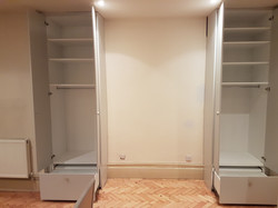 SPRAY FINISHED ALCOVE WARDROBES 8