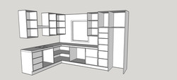 mums kitchen internal layout