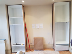 SPRAY FINISHED ALCOVE WARDROBES 6