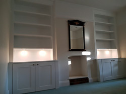 SPRAY FINISHED ALCOVE CABINETS 9