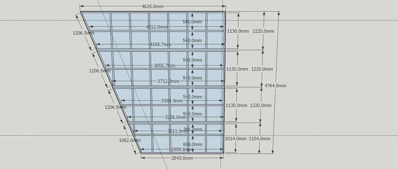 roof dimensions