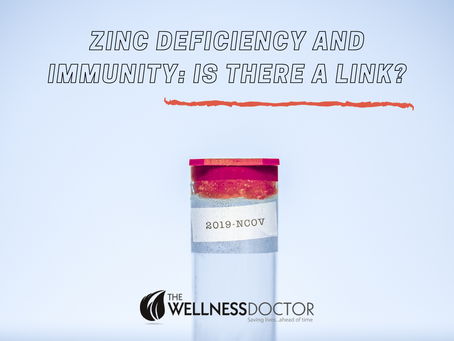 Zinc deficiency and the immune system