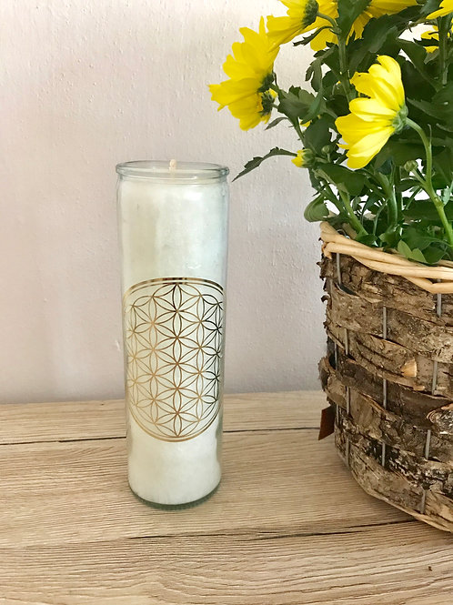 Svíčka ve skle s esenciálními oleji