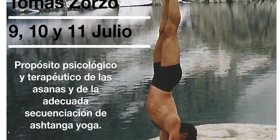 Curso de Ashtanga Yoga Tomas Zorzo