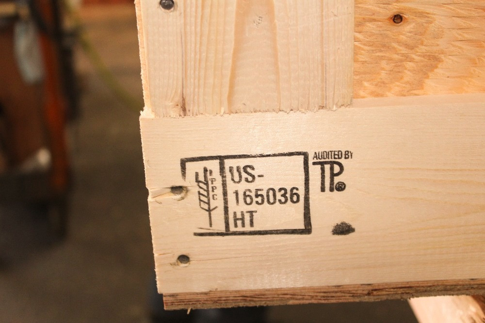 custom crate ippc ispm 15 certification