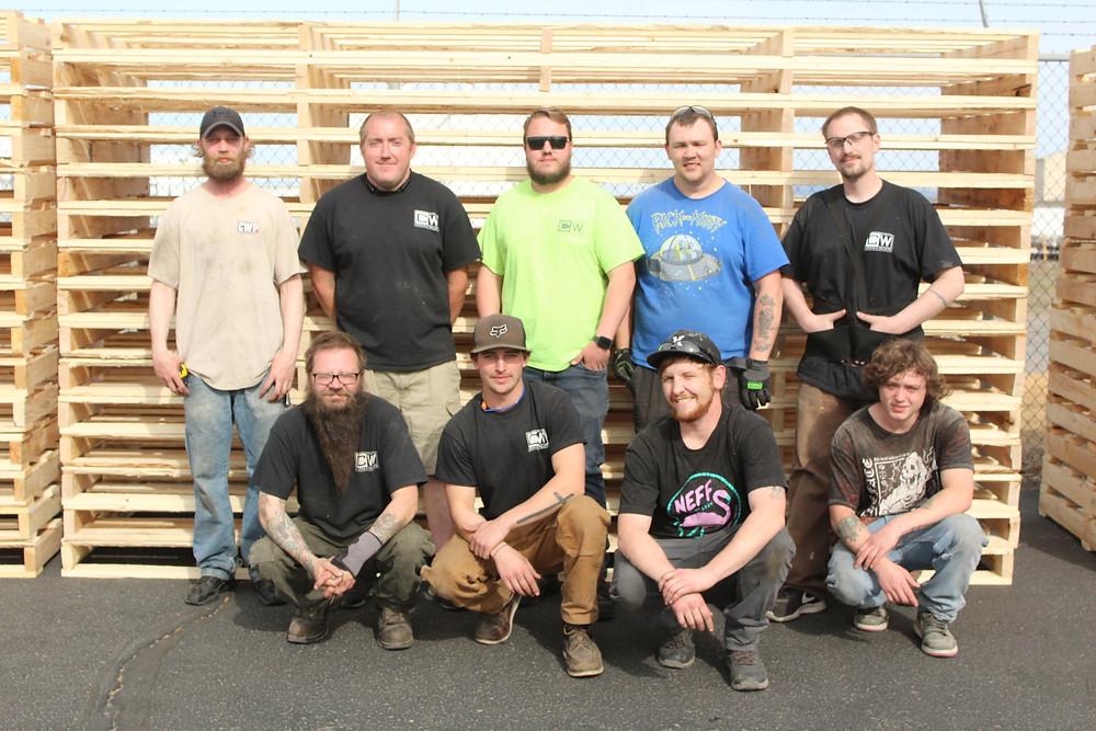 cw crates pallets team more than a job spokane