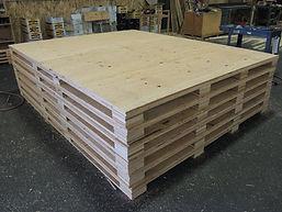 CW Crates & Pallets Pallet Design Image.