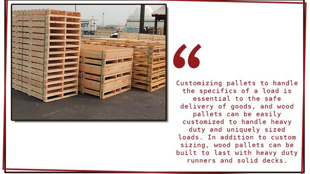 Plastic Pallets vs. Wood Pallets - Pros & Cons of each.