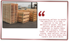 Plastic Pallets vs. Wood Pallets - Pros & Cons of each.