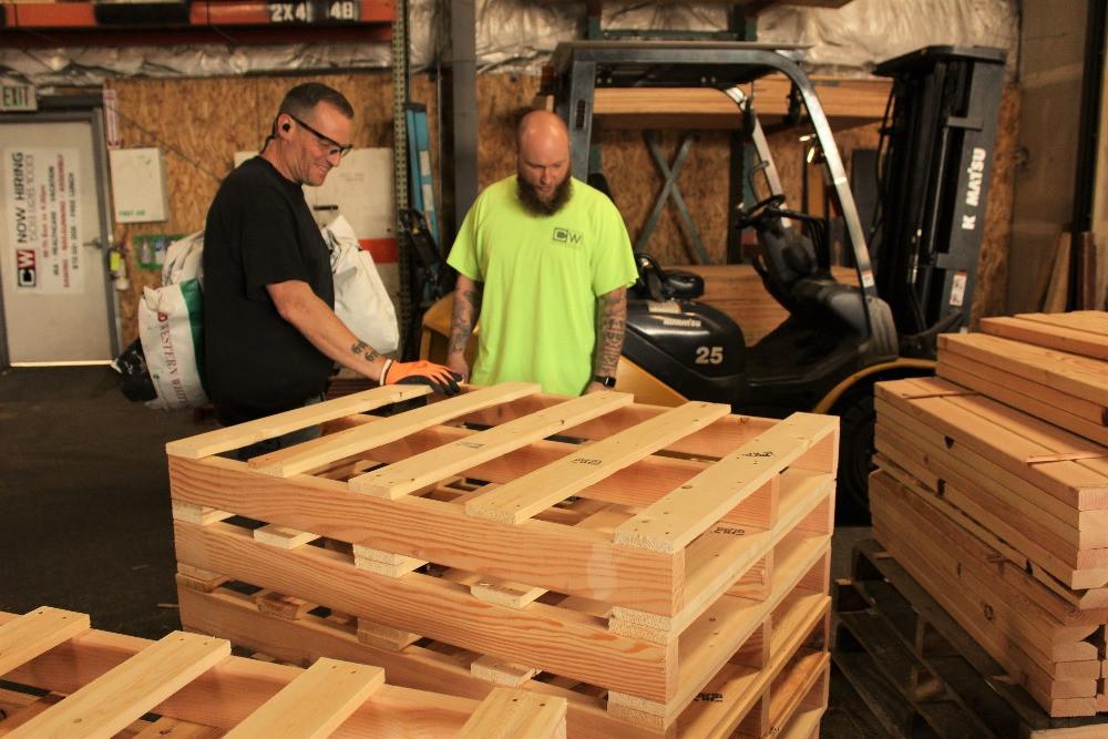 cw crates pallets creates jobs boosts economy