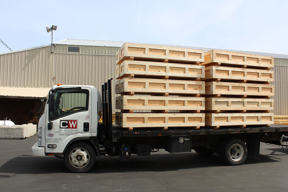 transporting custom crates pallets washington idaho