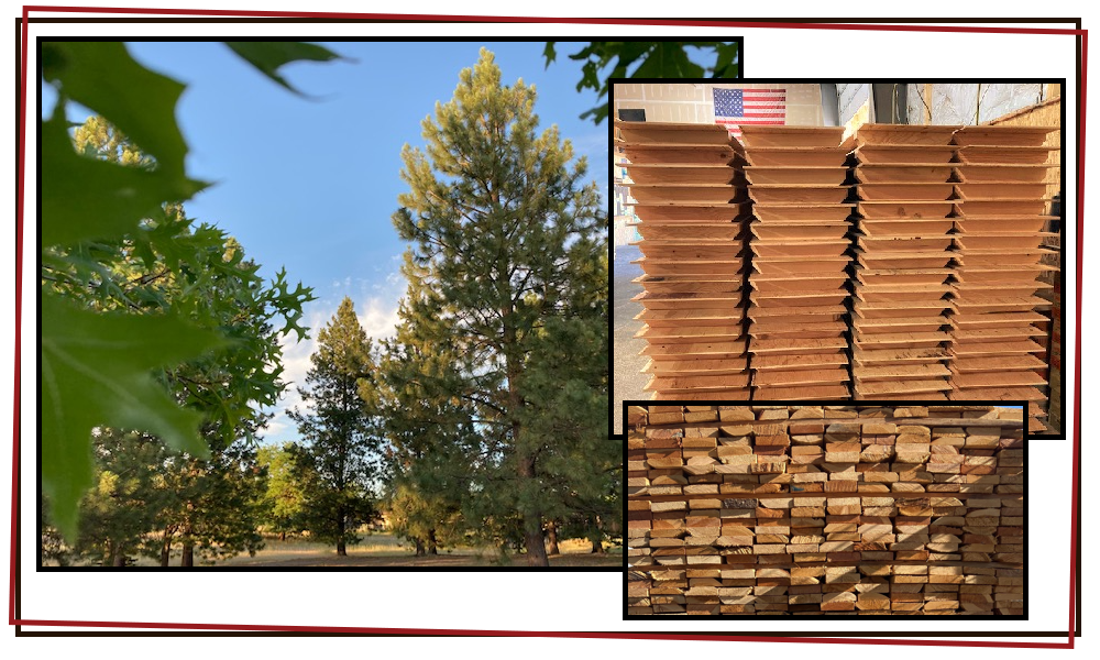crates pallets lumber timber good for environment
