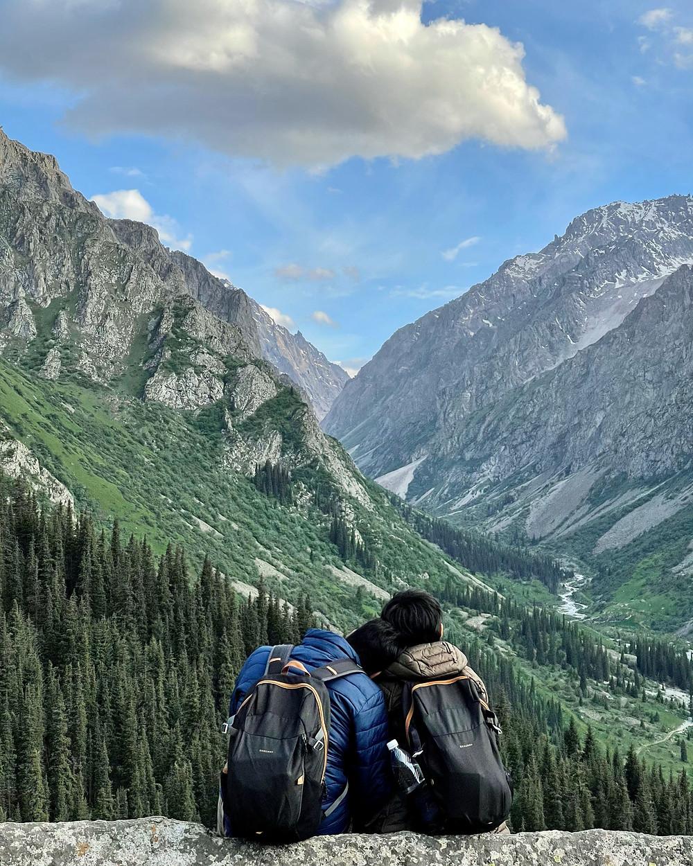Ala Archa National Park Kyrgyzstan Daypack Quechua 20L