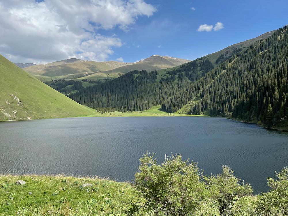 Kol Kogur Lake Kyrgyzstan Hike Itinerary Travel