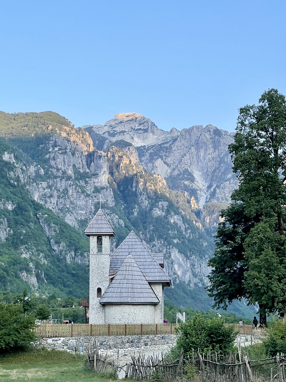 Albania Itinerary - Road Trip - Theth Church