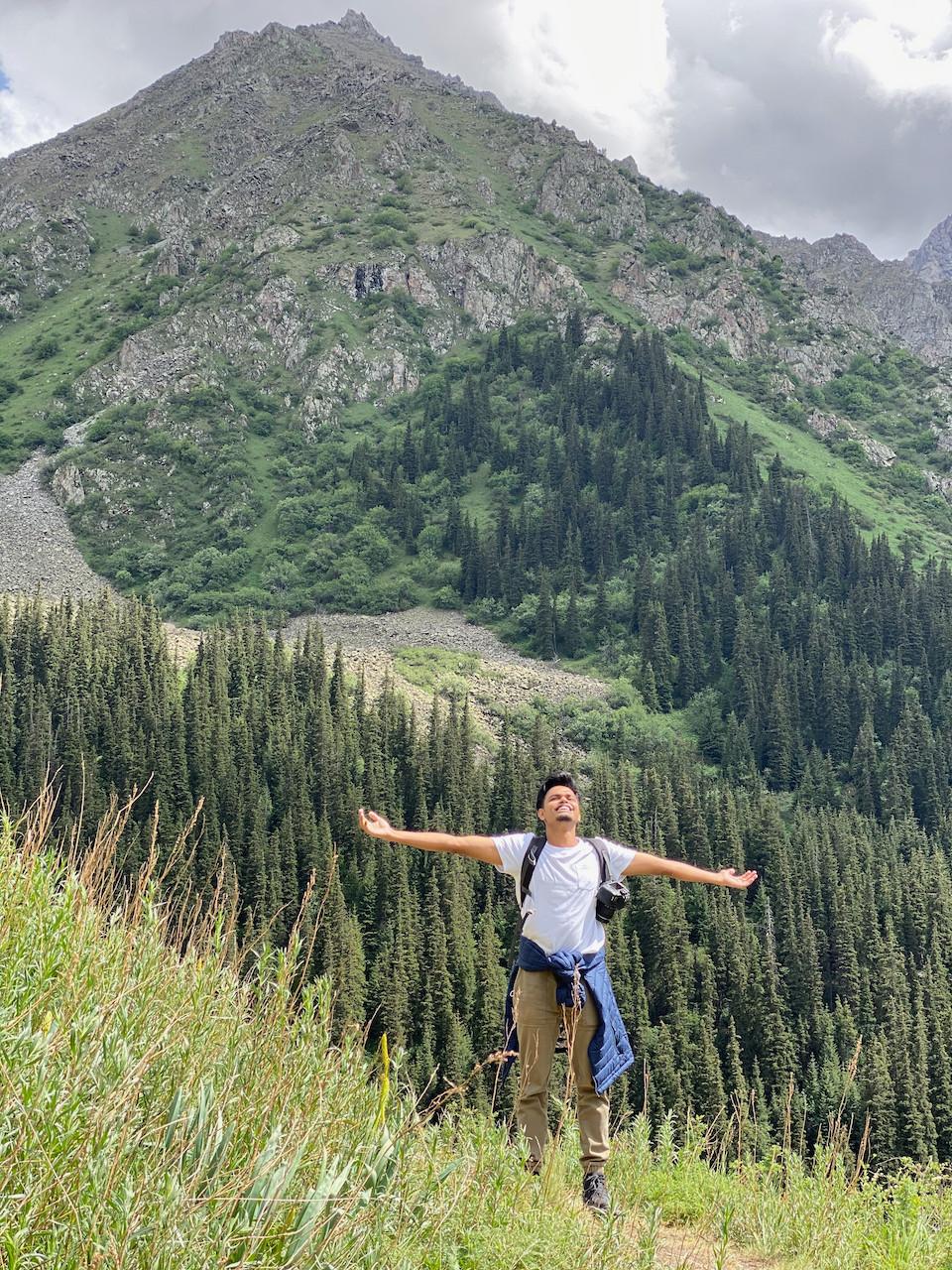 Ala Archa National Park Kyrgyzstan Hike