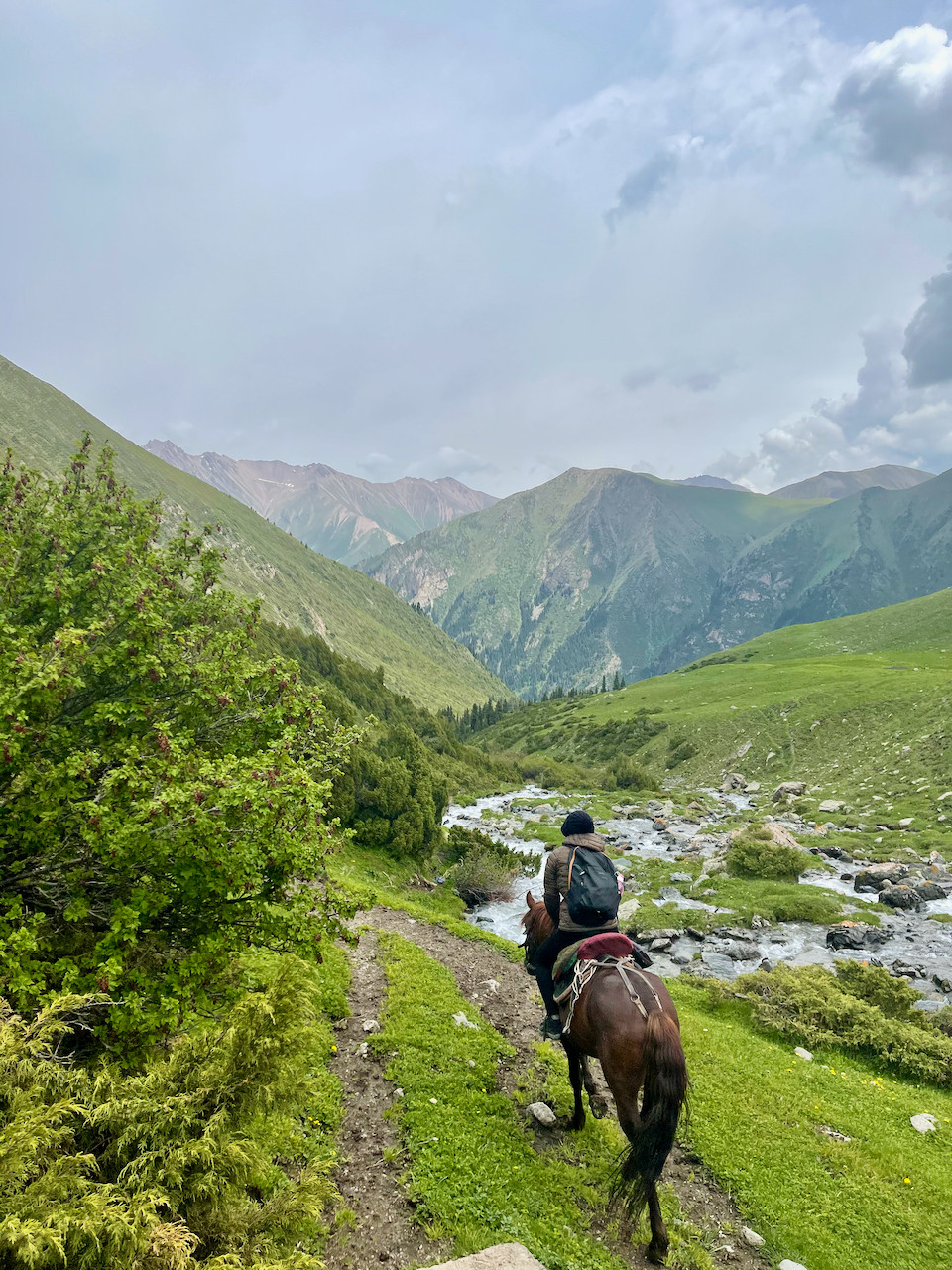 Ala Kul Kyrgyzstan Horse Riding Hike Travel