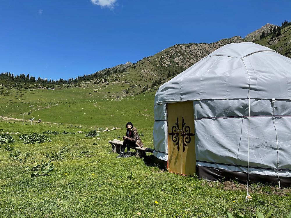 Kyrgyzstan Yurt Altyn Arashan