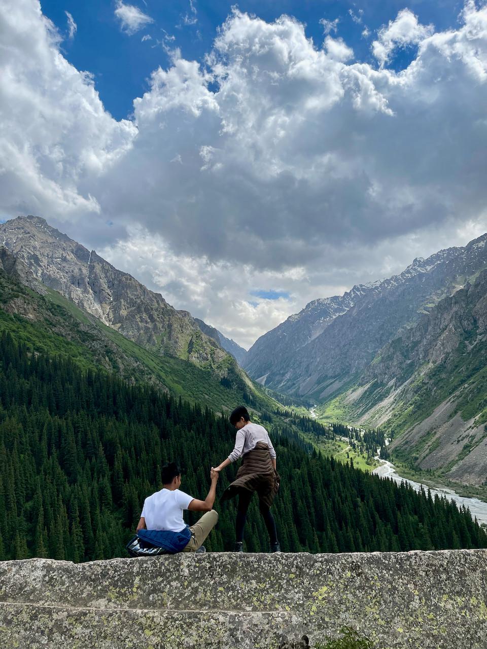 Ala Archa National Park Kyrgystan