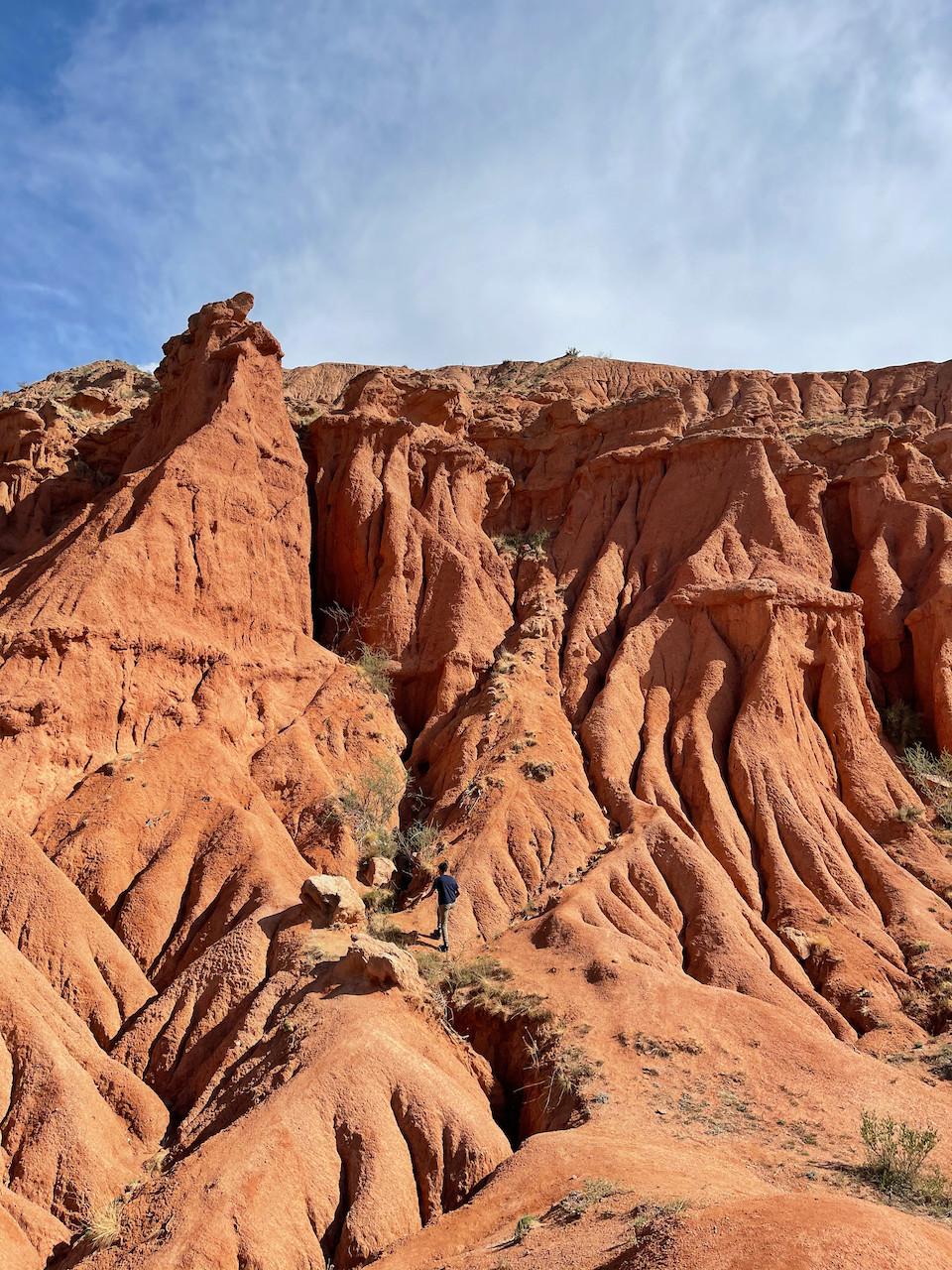 Canyon Kyrgyzstan Skazka Konorchek
