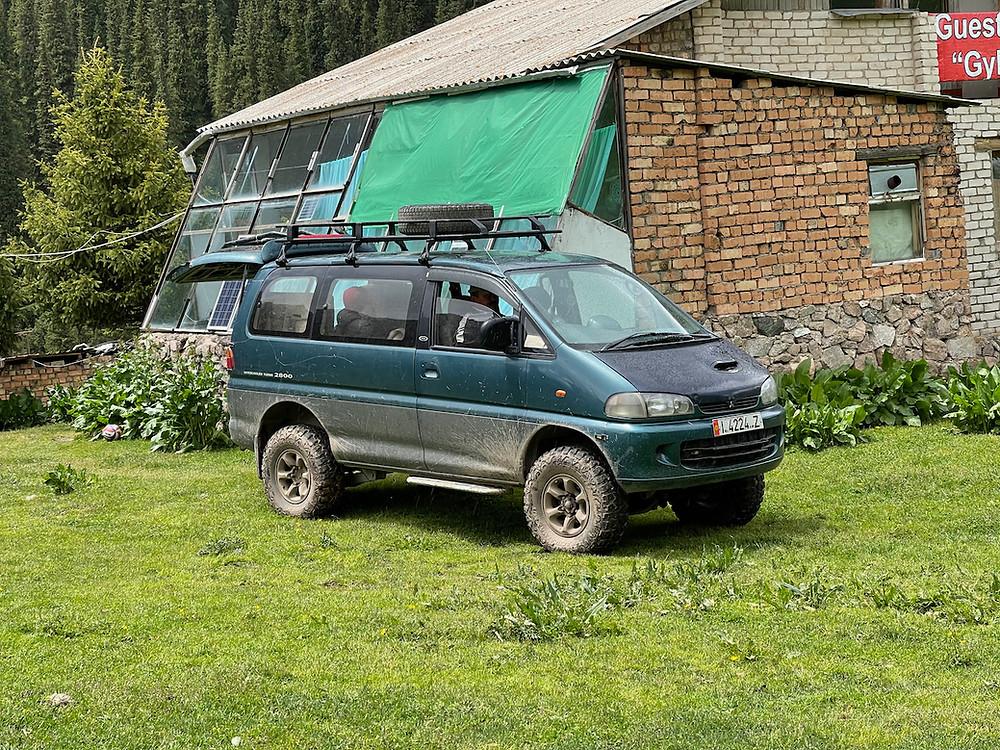 Kyrgyzstan Itinerary Mountain Van