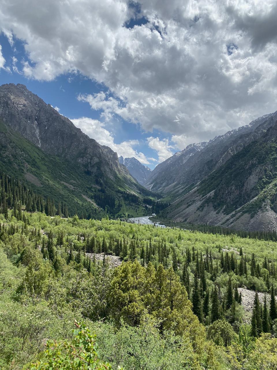 Ala Archa National Park Kyrgyzstan