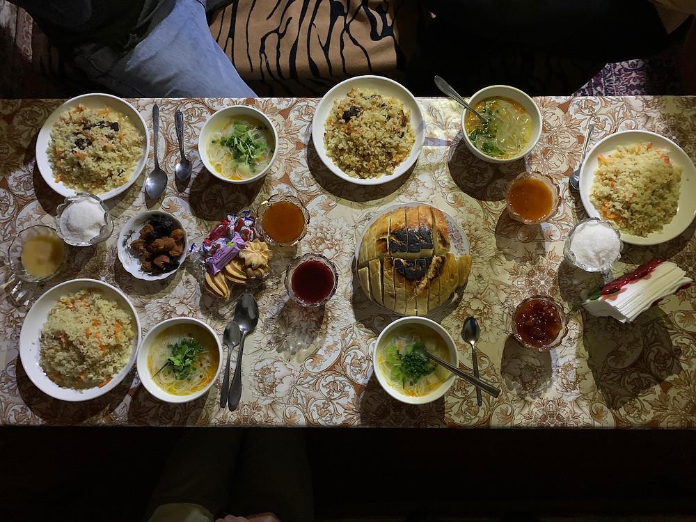 Kyrgyz Food Kyrgzystan Itinerary