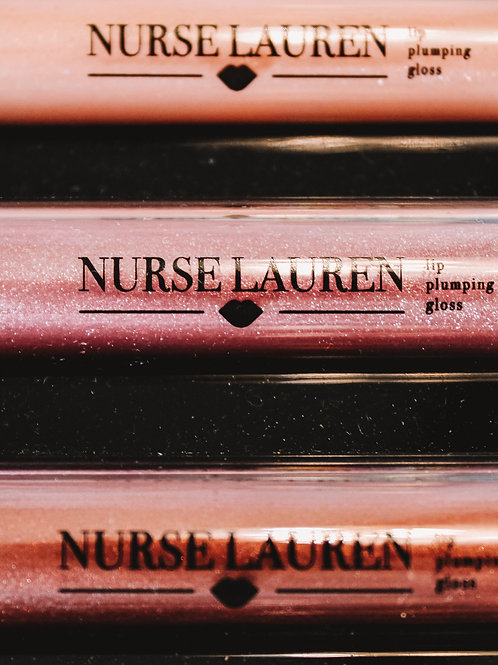 Nurse Lauren Plumping Lip Gloss