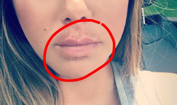 pretty lips!