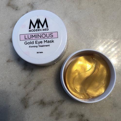 Modern Med Luminous Gold eye mask
