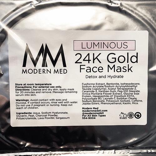 Modern Med Luminous 24K Gold Face Mask