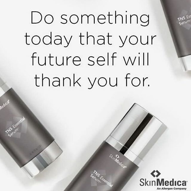 I have been loving the TNS essential serum by SkinMedica! Invest in your skins future! Everyone in t