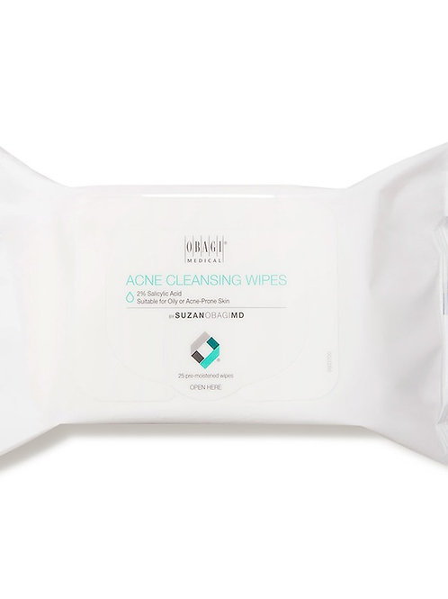 Acne Cleansing Wipes (25 count)