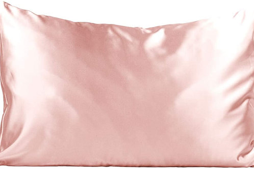 Pink Satin Pillowcase (King)
