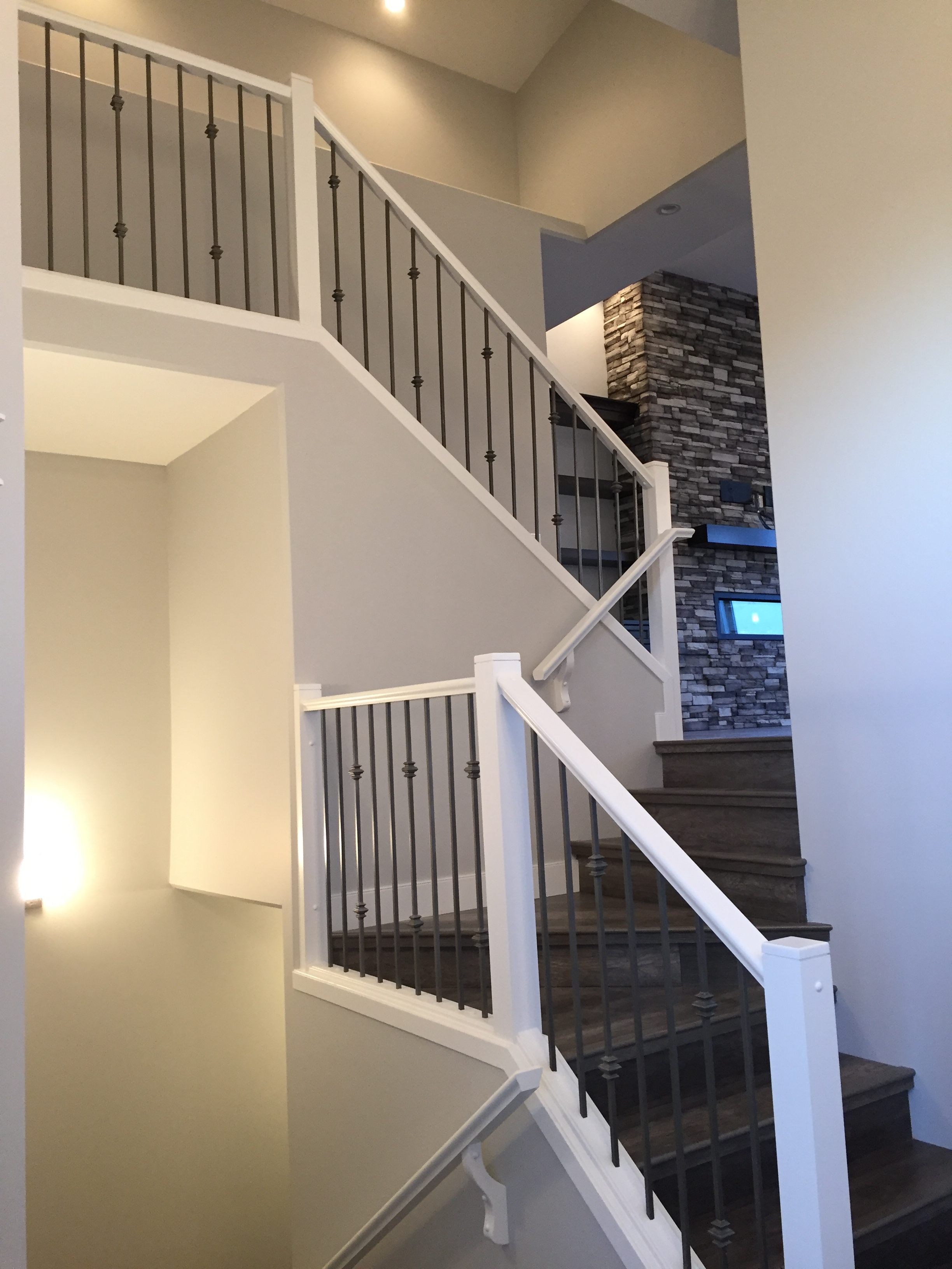 Custom Railing to Main Floor