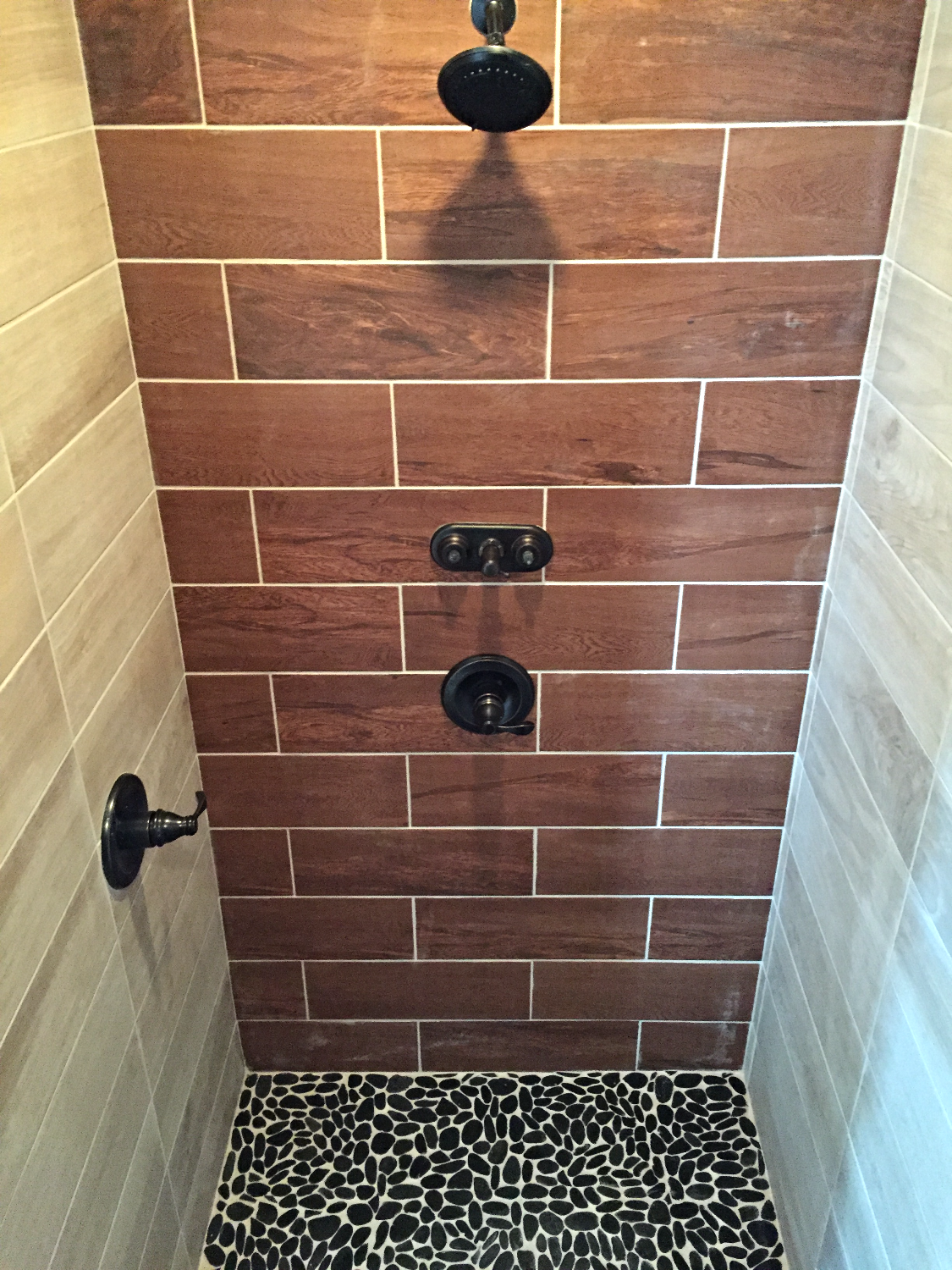 Master Ensuite Shower w/ Dual Shower