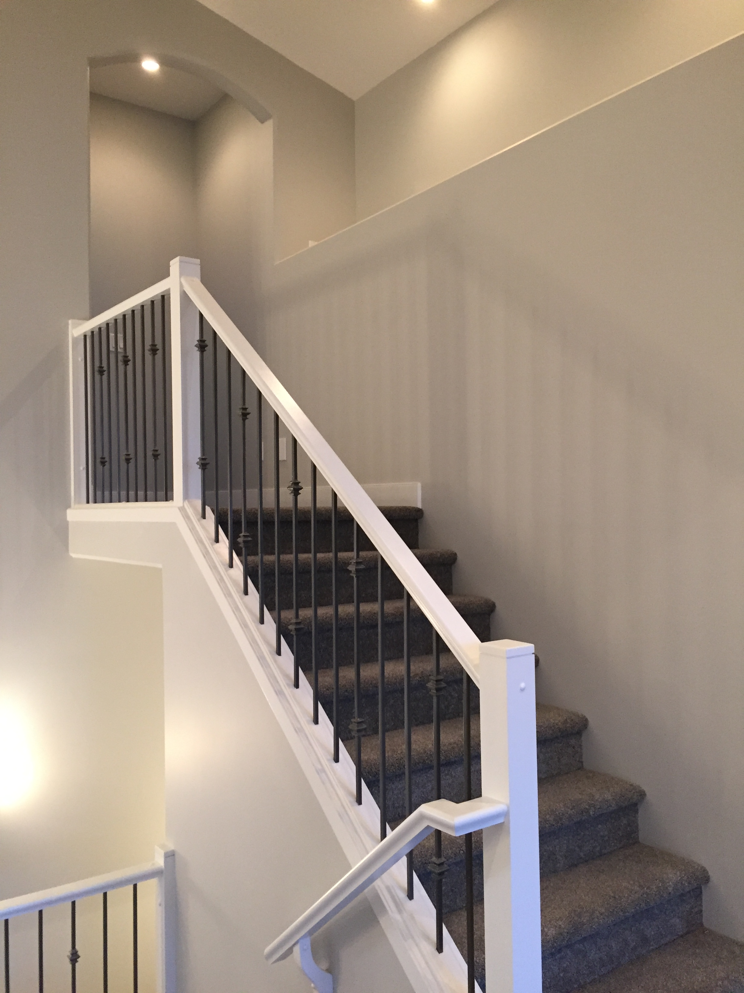 Stairwell to Master Bedroom